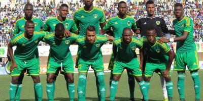 Les Mourabitounes  sur le bon chemin de la CAN 2019 ( photo  page Facebook de la FFRIM )