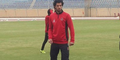 Amr Barakat, buteur face à Al Wahda