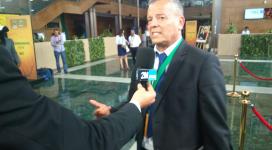 Lakhdar Belloumi au symposium de Rabat (photo 2022mag.)