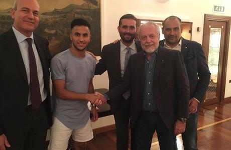 Naples: Adam Ounas a rejoint Ghoulam