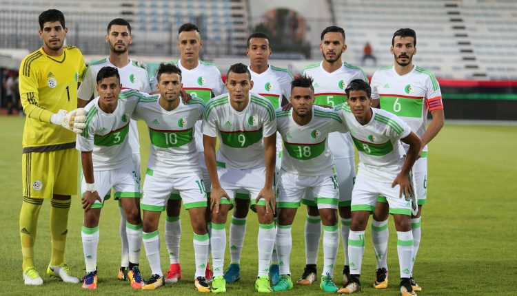 Libye - Algérie A' (1-1), photo faf.dz
