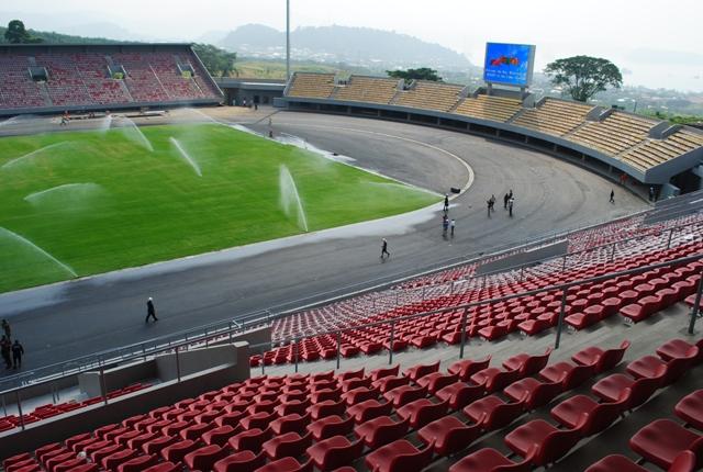 Stade de Limbé II livré en 2014