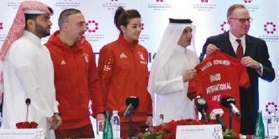 La Qatar sponsor du Bayern Munich
