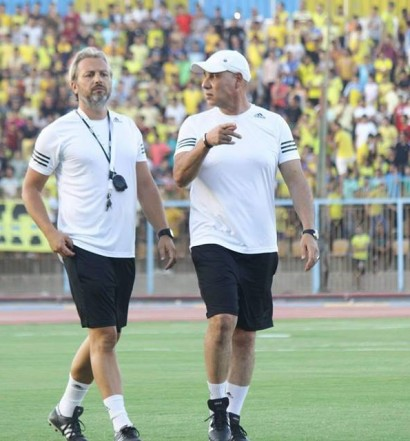 Sebastien Desabre au Ismaily SC (photo facebook ismaily.SC )