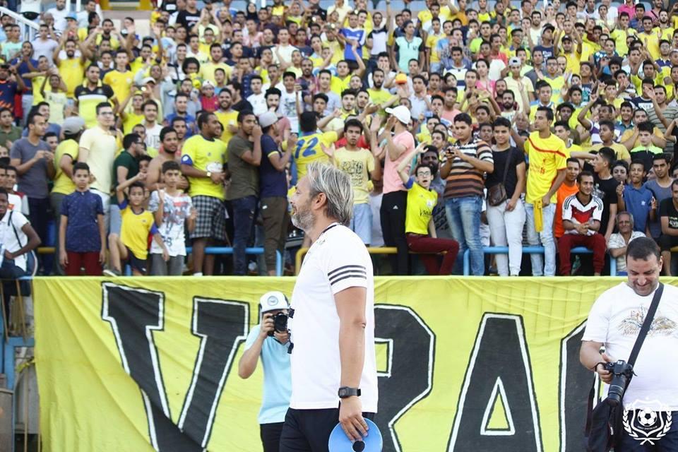 Présentation de Sebastien Desabre au Ismaili SC (photo facebook ismaili.SC )