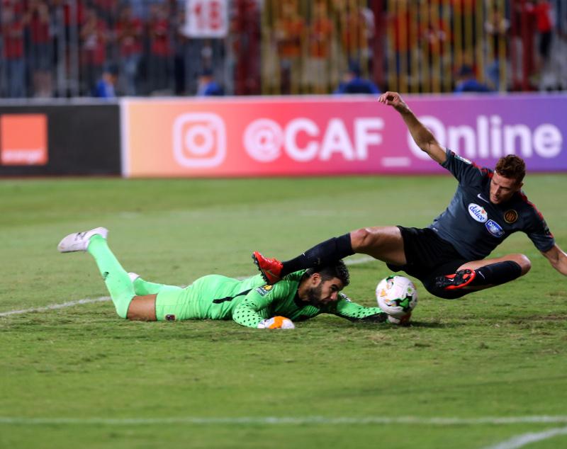 EST - Al Ahly (1-2) photo www.cafonline.com