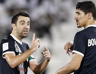 Al Sadd : Bounedjah et Xavi