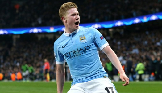 Man City: Guardiola fou de Kevin De Bruyne