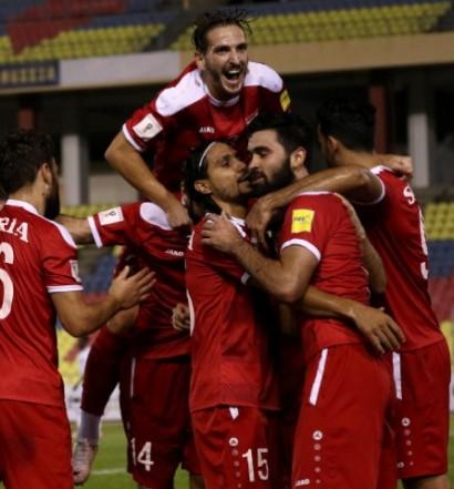 Importante victoire de la Syrie face au Qatar (3-1)