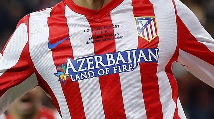 L'Azerbaïdjan sponsor de l'Atletico Madrid