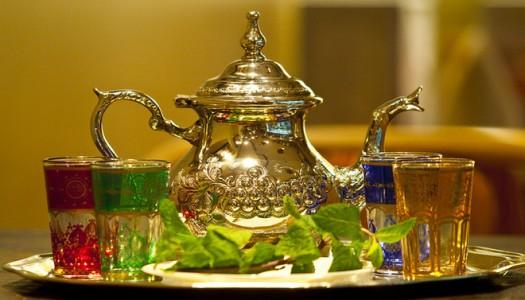 Maroc- Gabon :  Entre orange et thé à la menthe