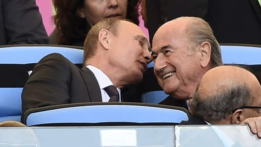 Mondial 2018 : Blatter sera l'invité de Poutine