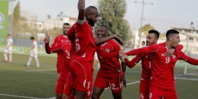 Les Palestiniens ont assuré leur  deuxième participation à une phase finale de la Coupe d'Asie après Australia 2015