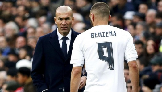 Real Madrid:  Zizou félicite  Benzema