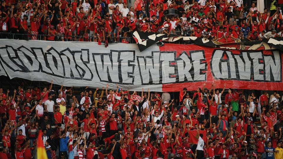 Le WAC a été soutenu comme jamais par ses ultras à Abu Dhabi (photo Fifa.com)