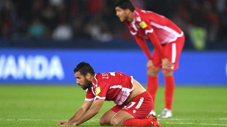 El Mehdi Karnass et le WAC à terre (photo fifa.com )
