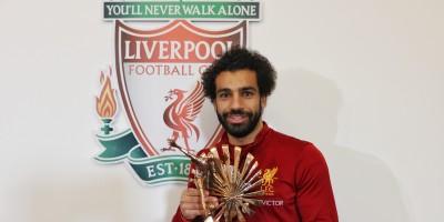 Mohamed Salah, meilleur joueur de l'année 2017 (Trophée de la BBC Sport)
