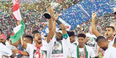 Vainqueur de la Coupe du golfe arabe en 2018 avec Oman  Oman