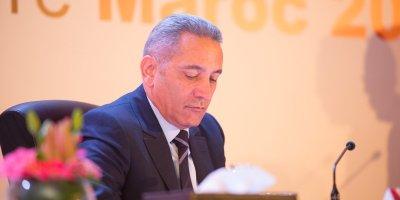 Moulay Hafid El Alamy , président du Comité d'organisation du Mondial (crédite @Maroc2026.jpg )