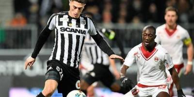 Mehdi Tahrat sous les couleurs du SCO d'Angers