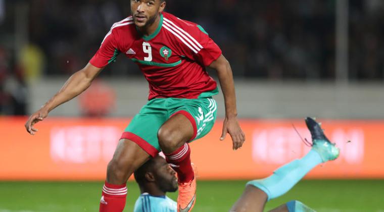El Kaabi double buteur contre la Mauritanie (photo cafonline.com )