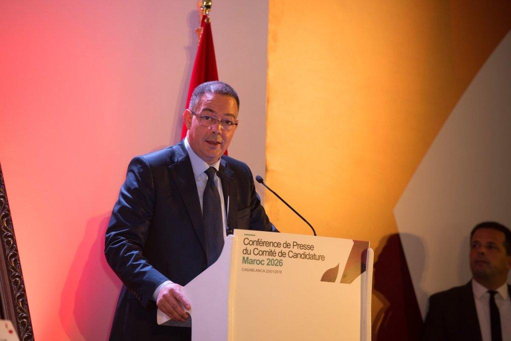 Fouzi Lekjaa (président de lia FRMF) crédit @Maroc2026.jpg