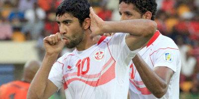 Oussama Darragi, c'est 45 sélections et 10 buts avec les Aigles de Carthage
