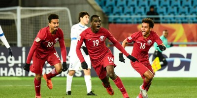 AFC U23  Qatar - Ouzbékistan (1-0), photo afc.com