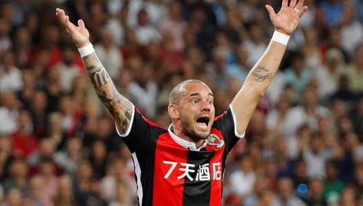 Al Gharafa : Wesley Sneijder fier de son choix