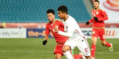 Qatar - Oman (1-0), photo afc.com