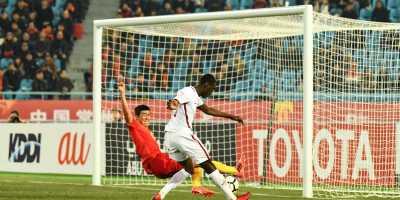 Un doublé d'Ali Almoez qualifie le Qatar pour les quarts (photo afc.com)