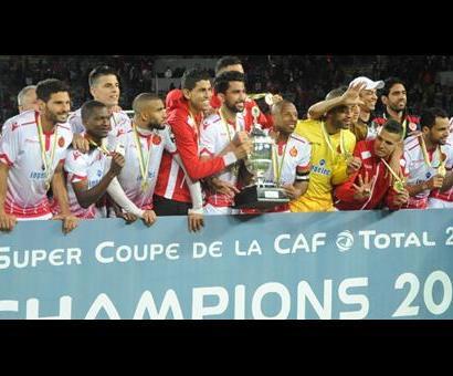 Première Super Coupe d'Afrique pour la WAC (photo cafonline.com )