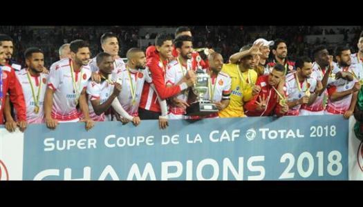 Super Coupe d'Afrique:Première pour le WA Casablanca