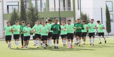 L'équipe nationale d'Algérie U20 en stage (photo faf.dz )
