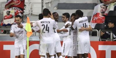 Al Sand et Bounedjah ont dominé  Persepolis (3-1) .  (Photo afc.com)