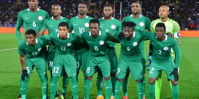 Le Nigeria lors de la demi finale du CHAN disputée à Marrakech (photo cafonline.com)