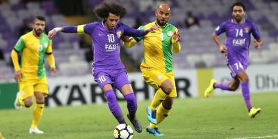 Désigné meilleur joueur du match, Omar Abdulrahman est sorti sur blessure (photo afc.com)