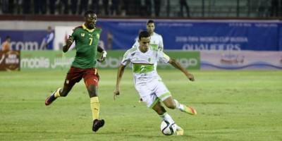 Algérie- Cameroun (1-1) le début des ennuis pour les Fennecs en octobre 2016 (photo cafonline.com )