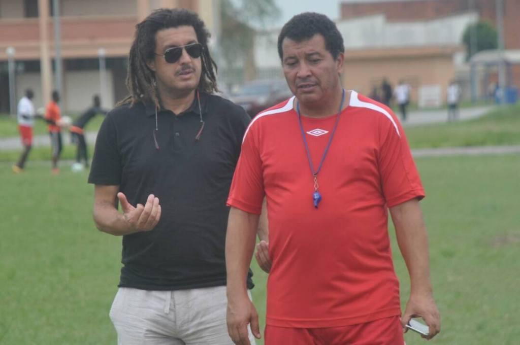 Avec Faouzi Rouissi, le coach du FC San Pedro