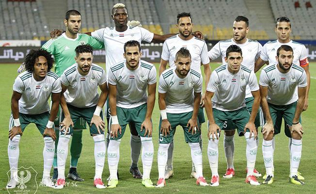 Al Masry a dominé l'USM Alger sur les deux matches (photo cafonline.com )