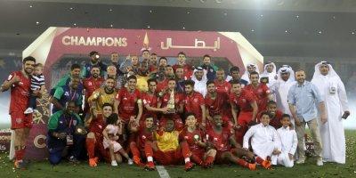 Al Duhail vainqueur de la  Coupe du Qatar (photo qsl.com)