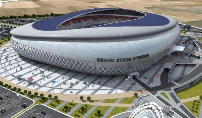 La maquette du Stade d'Oujda