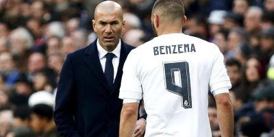 Zidane-Benzema