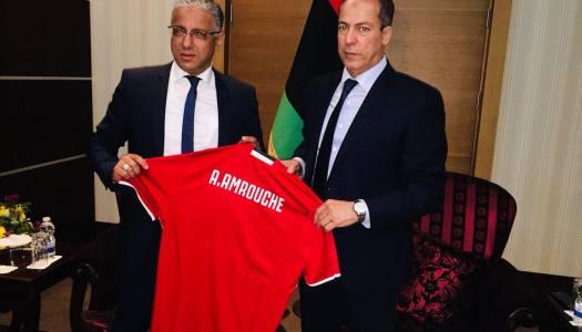 Libye / Amrouche : » Objectif Cameroun 2019 !