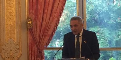 Moulay Hafid Elalamy, président du comité d'organisation de la Coupe du monde,