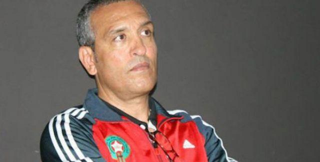 Aziz Bouderbala, directeur sportif des Lions de l'Atlas