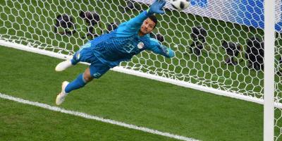 Mohammed El-Shennawy (match face à l'Uruguay, photo Fifa.com )