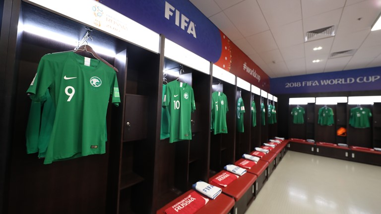 Arabie Saoudite , Mondial 2018 (photo fifa.com )
