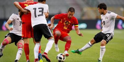L'Egypte a craqué face aux Diables Rouges de Belgique