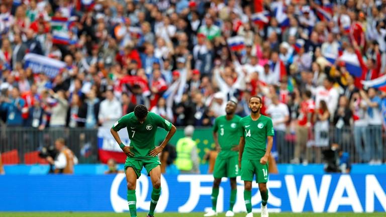 Un succès contre l'Egypte après deux défaites face à la Russie et  à l'Uruguay  (photo Fifa.com )